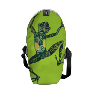 Gecko styling! Curing ashes Courier Bag
