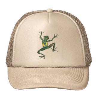 Gecko styling! trucker hat