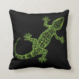 Gecko Throw Pillow