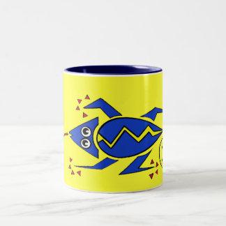 Gecko Two-Tone Coffee Mug