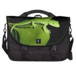 Gecko verde de Auckland Bolsas De Portatil