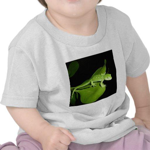 Gecko verde de Auckland Camiseta
