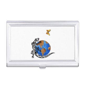 Gecko World Business Card Case