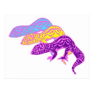 geckos 01 tarjeta postal