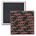 Geckos 2 Inch Square Magnet