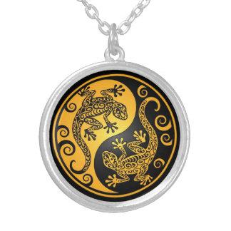Geckos amarillos y negros de Yin Yang Joyerias Personalizadas