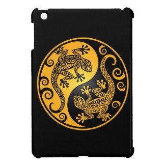 Geckos amarillos y negros de Yin Yang