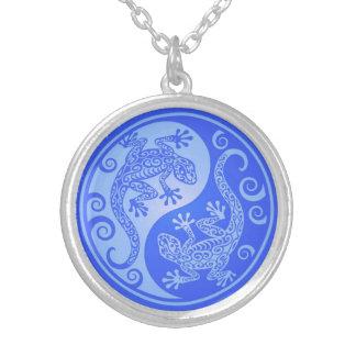Geckos azules de Yin Yang Grímpola