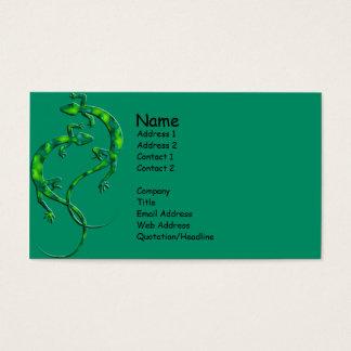 Geckos Business Card