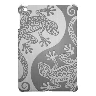 Geckos de Yin Yang, efecto del acero inoxidable