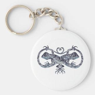 geckos horizontal keychain