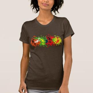Geckos lizards float T-Shirt