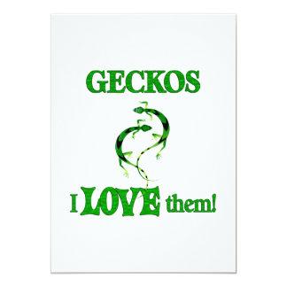 Geckos Love Them Custom Announcements