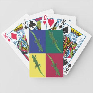 Geckos Playing Cards