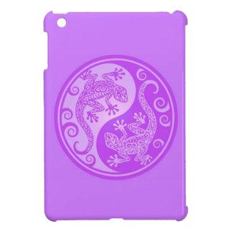 Geckos púrpuras de Yin Yang