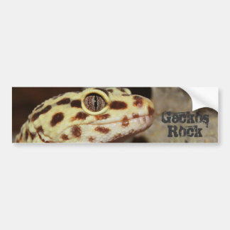 Geckos Rock Bumper Stickers