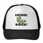 Geckos Rock Mesh Hats