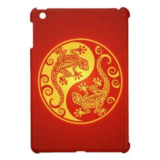 Geckos rojos y amarillos de Yin Yang