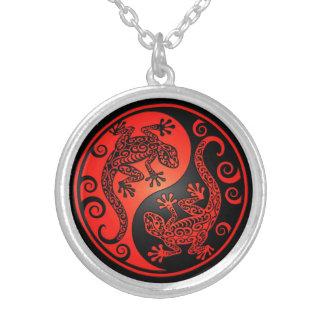 Geckos rojos y negros de Yin Yang Grimpolas