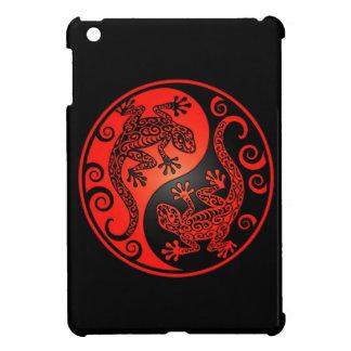 Geckos rojos y negros de Yin Yang