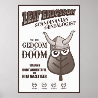 GEDCOM de la CONDENACIÓN (sepia) Poster