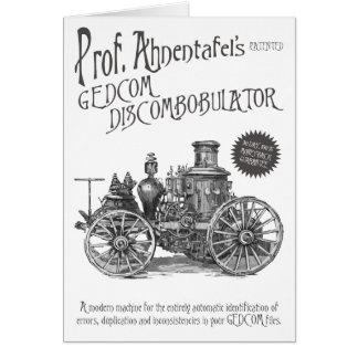 GEDCOM Discombobulator Card
