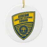 GEDCOM Emergency Response Squad Christmas Ornament