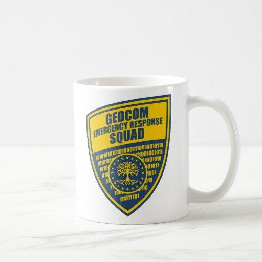 GEDCOM Emergency Response Squad Classic White Coffee Mug