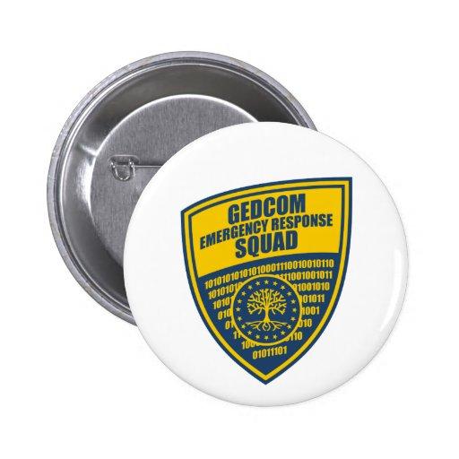 GEDCOM Emergency Response Squad Pin