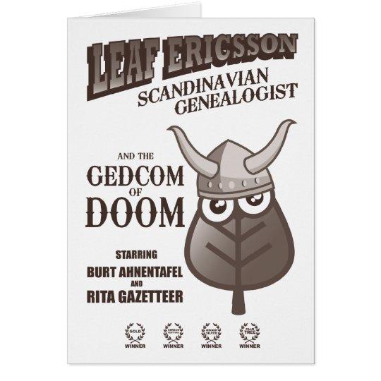 GEDCOM of DOOM (Sepia) Card