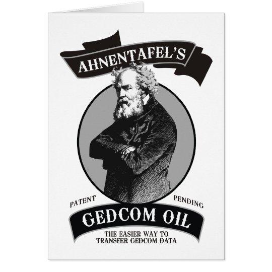 GEDCOM Oil Card