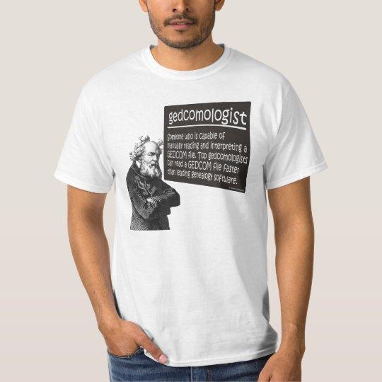 Gedcomologist T-Shirt