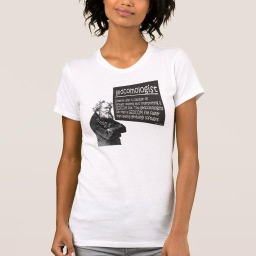 Gedcomologist Tshirts
