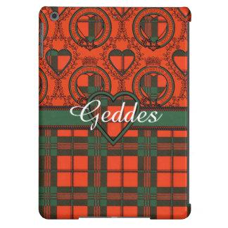 Geddes clan Plaid Scottish kilt tartan Cover For iPad Air