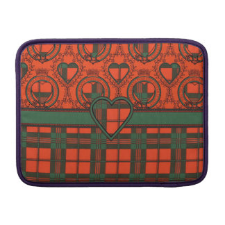 Geddes clan Plaid Scottish kilt tartan MacBook Sleeves