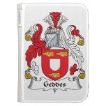 Geddes Family Crest Kindle 3 Cases