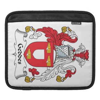 Geddes Family Crest Sleeve For iPads