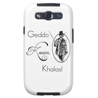 Geddo sabe. ¡Khalas! Galaxy S3 Cárcasa