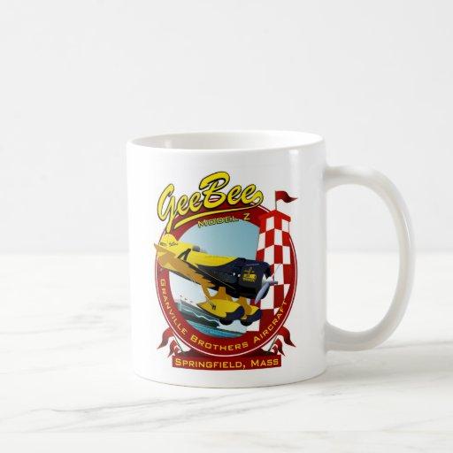 Gee Bee Z Racer Mugs