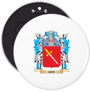 Gee Coat of Arms - Family Crest Button