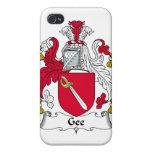 Gee escudo de la familia iPhone 4 carcasas