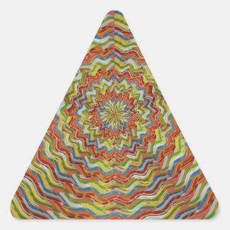 GEE SPOT Pleasure WAVES in GOLD; ENJOY SHARE Triangle Sticker