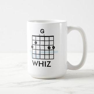 Gee taza de la guitarra del Whiz