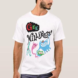 Gee Willikers - white t shirt