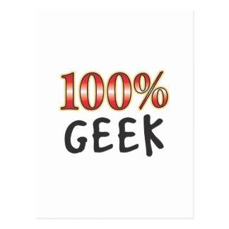 Geek 100 Percent Postcard