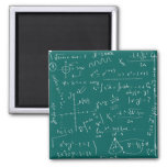 Geek 2 Inch Square Magnet