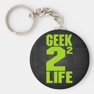 Geek 4 Life Keychain