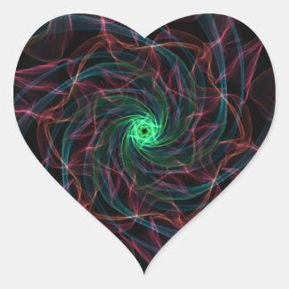 Geek Abyss Heart Sticker
