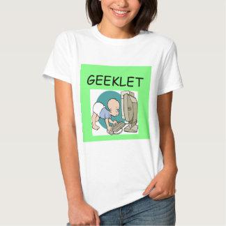 GEEK baby joke T-shirt