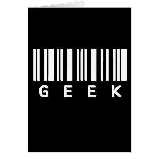 Geek Barcode Card